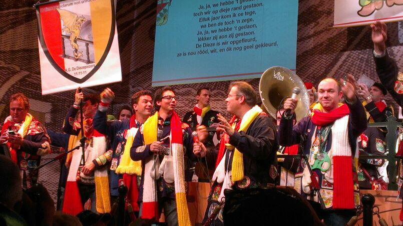 K.G. De Diezepiezers ingeschreven voor het 55e Kwèkfestijn in Oeteldonk 2013